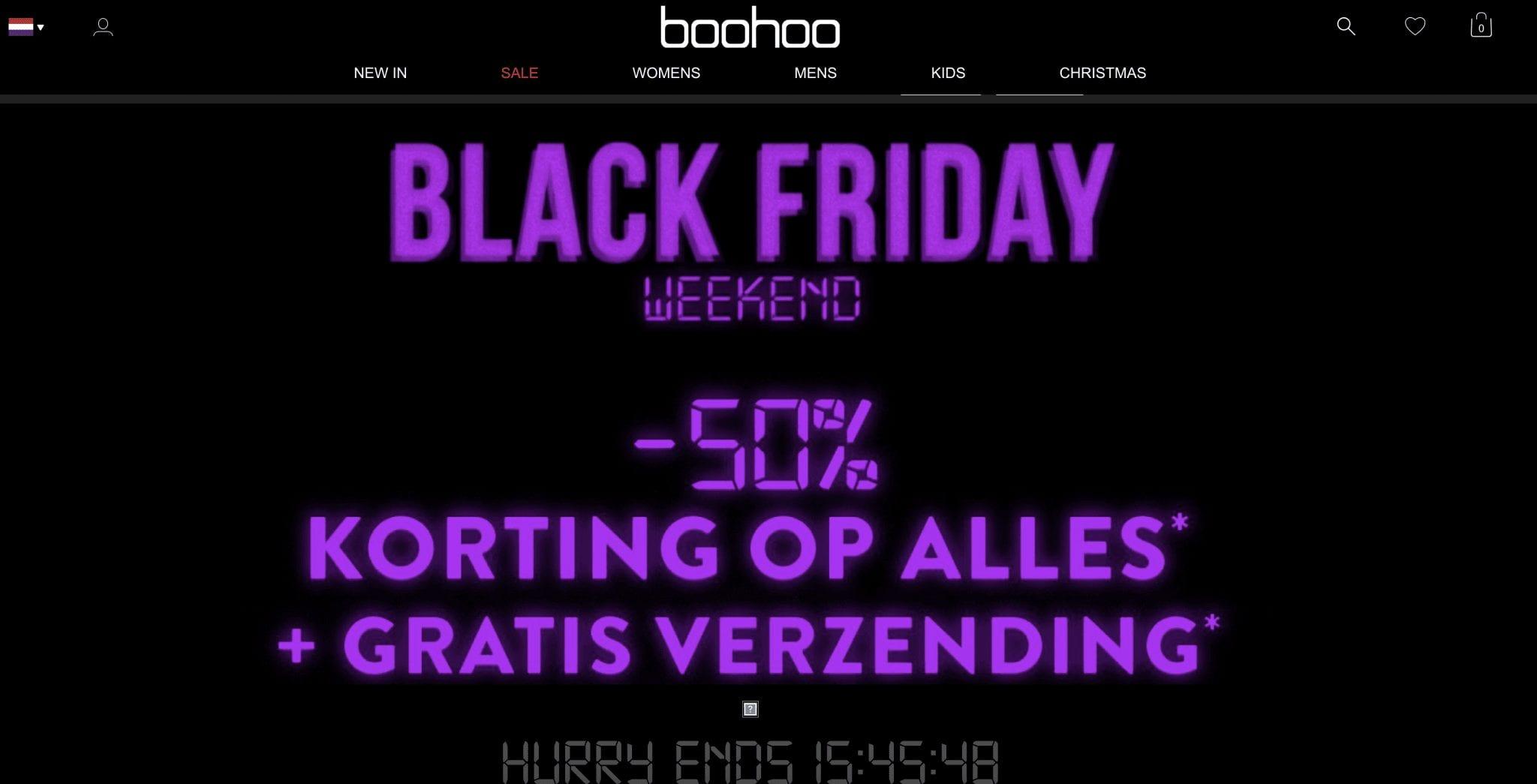 Black Friday Boohoo