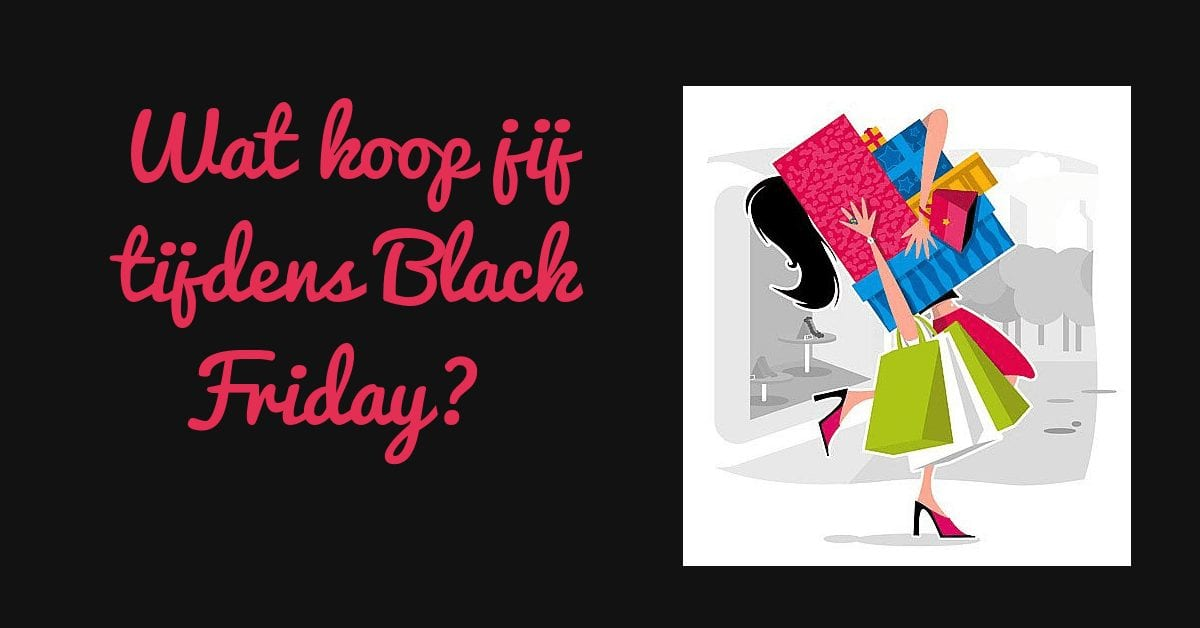 Black Friday populair